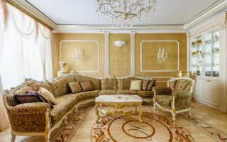 Особенности классической гостиной и предметов интерьера