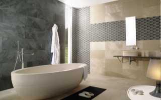 Укладка плитки в ванной комнате своими руками